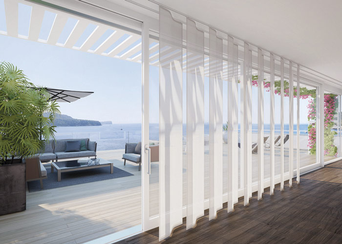 sistemas de cortinas de interior