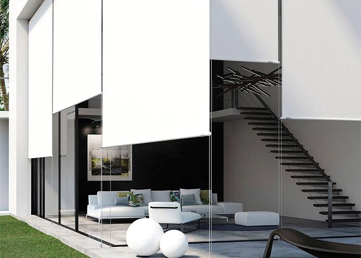 cortinas enrollables para exteriores