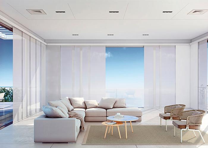 cortinas tipo panel japones a medida